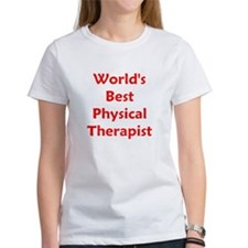 World's Best PT (red) Tee