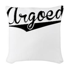 Argoed, Retro, Woven Throw Pillow