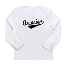 Asuncion, Retro, Long Sleeve T-Shirt