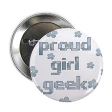 Girl Geek Button