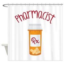 Pharmacist RX Shower Curtain