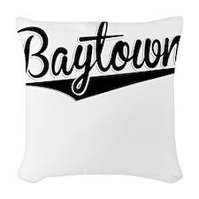 Baytown, Retro, Woven Throw Pillow