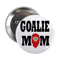 Goalie Mom Button
