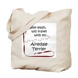 Airedale Travel Tote Bag