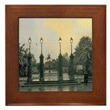 Old Jackson Square Framed Tile