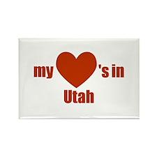 Utah Rectangle Magnet