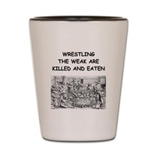 WRESTLING4 Shot Glass