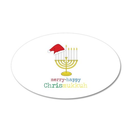 merry-happy Chrismukkah Wall Decal