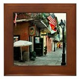 Pirates Alley Framed Tile