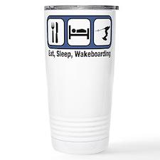 Cute Wakeboarding Thermos Mug