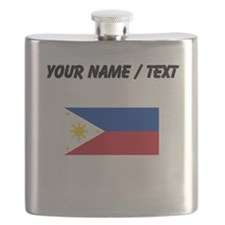 Custom Philippines Flag Flask