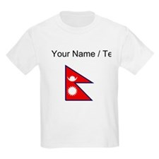 Custom Nepal Flag T-Shirt
