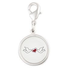 Love Birds Charms