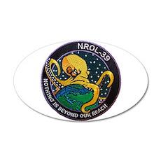 NROL-39 Program Logo 20x12 Oval Wall Decal