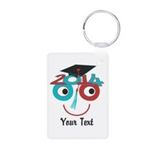 Customize Funny Grad Dude Keychains