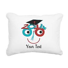 Customize Funny Grad Rectangular Canvas Pillow