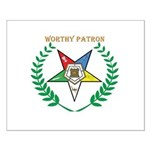 OES Worthy Patron Small Poster