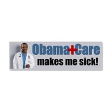 Unique Socialized medicine Car Magnet 10 x 3