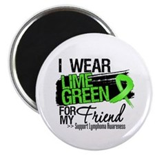 Friend Lymphoma Ribbon Magnet