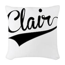 Clair, Retro, Woven Throw Pillow