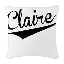 Claire, Retro, Woven Throw Pillow