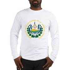 El Salvador Long Sleeve T-Shirt