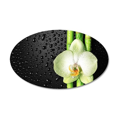 Bamboo Orchid Wall Decal