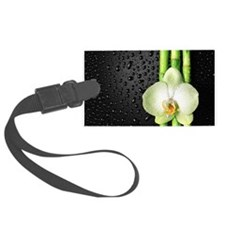Bamboo Orchid Luggage Tag