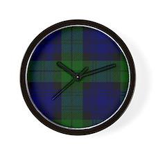 Black Watch Wall Clock