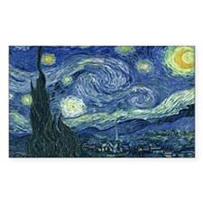 Funny Van gogh starry night Decal