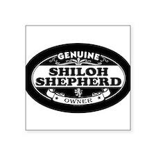 SHILOH SHEPHERD_ownerblackoval Sticker