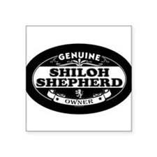 "Unique Shilohs Square Sticker 3"" x 3"""