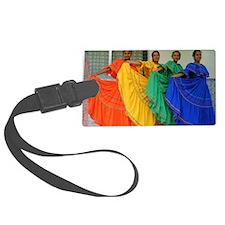 Rainbow Dancers Luggage Tag