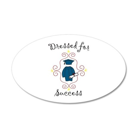 Dressed for Success Wall Decal