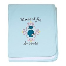 Dressed for Success baby blanket