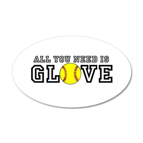 All You Need is Glove Wall Decal