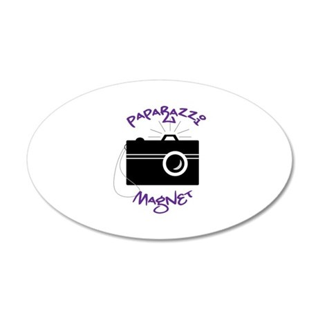PAPARAZZI MAGNET Wall Decal