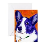Welsh Corgi Greeting Cards (Pk of 10)