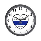 Party Girl Nevada Wall Clock