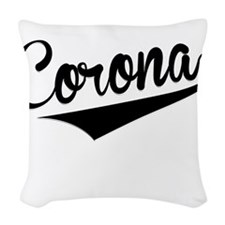 Corona, Retro, Woven Throw Pillow