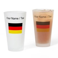 Custom Germany Flag Drinking Glass