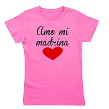Amo Mi Madrina Girl's Tee
