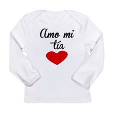 Amo Mi Tía Long Sleeve T-Shirt
