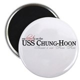 My heart is on USS Chung-Hoon Magnet