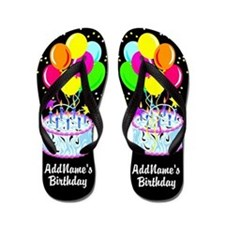 Fun Birthday Flip Flops