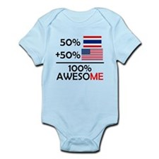 Half Thai Half American Body Suit