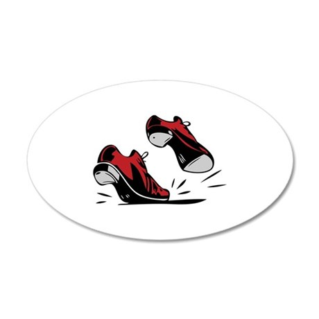 Tap Dancing Shoes Wall Decal