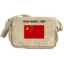 Custom China Flag Messenger Bag
