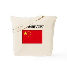 Custom China Flag Tote Bag