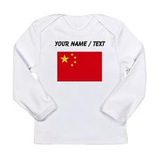 Custom China Flag Long Sleeve T-Shirt